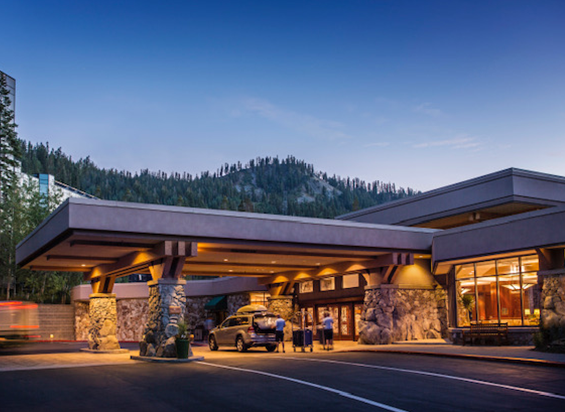 Amdaana 42nd confrence California Resort at Squaw Creek Exterior Entrance