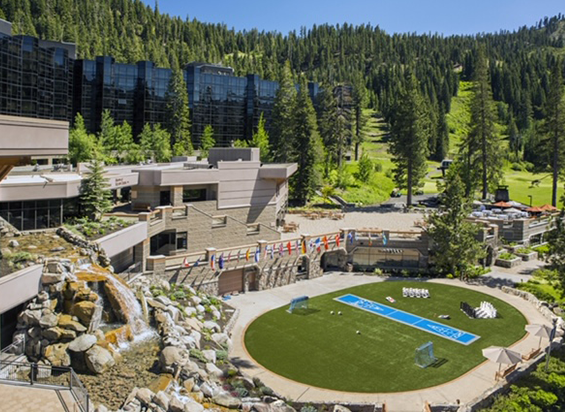 Amdaana 42nd confrence California Resort at Squaw Creek Exterior Grass Pavilion