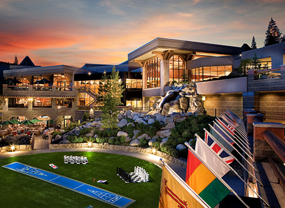 Amdaana 42nd confrence California Resort at Squaw Creek Exterior Sunset Grass Pavilion Resize